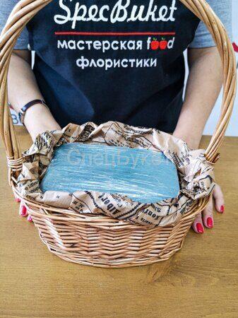 Букет в корзинке своими руками для учителя
